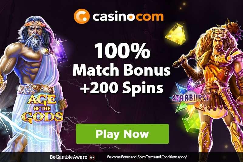 Casino.com Match Bonus